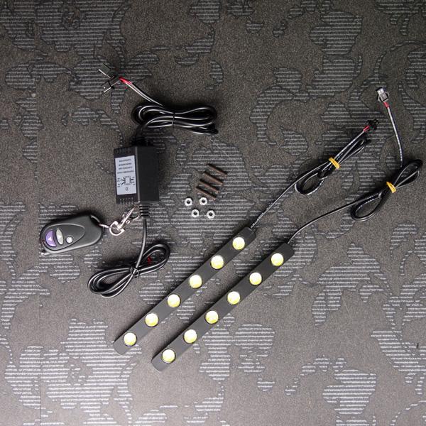 LED6連デイライト リモコン付 200系 ハイエース