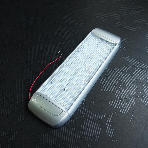 車内用 LEDライト 30cm ホワイト キャンピングカー用品  キャンピングカー パーツ 車用 DIY カスタム カーク産業 【送料込み】