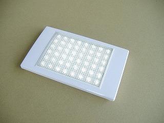 LED薄型インテリアライト スイッチ無し ホワイト キャンピングカー パーツ 車用 DIY カスタム カーク産業 0377 【送料込み】