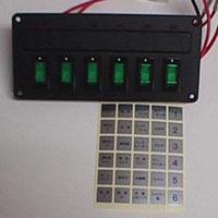 6連スイッチパネル 12V/24V兼用