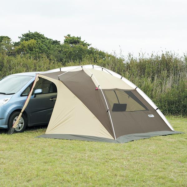 カーサイドリビングDX テント キャンプ アウトドア