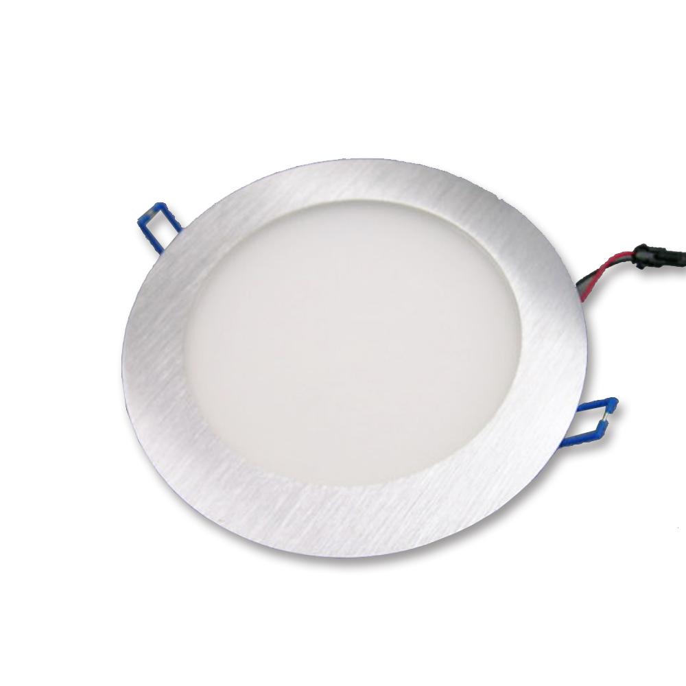 丸形埋込スリムライト LED 汎用品 埋め込みタイプ 車中泊車 カーク産業 【送料込み】