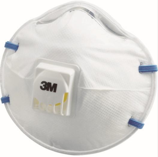 3M 使い捨て式防じんマスク 8805 10枚入 DS2 海外限定 超特価SALE開催 排気弁付き