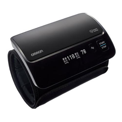 オムロン OMRON 上腕式血圧計 HEM-7600T-BKN(ブラック)【沖縄・離島は送料無料対象外】(wn0713) (6024554)