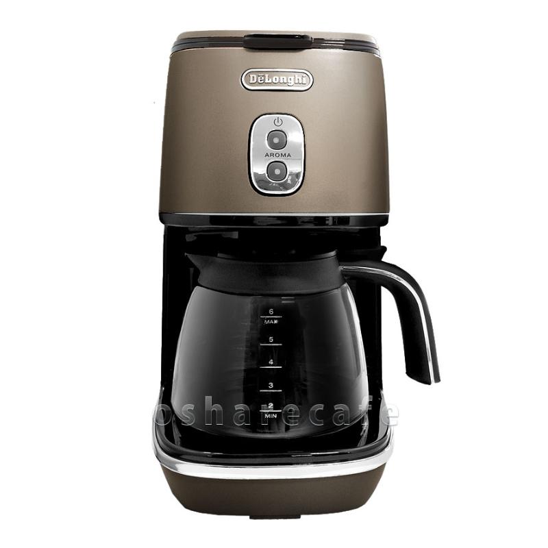 デロンギ コーヒーメーカー ICMI011J-BZ フューチャーブロンズ【ドリップコーヒーメーカー】【沖縄・離島は送料無料対象外】DELONGHI (6024298)