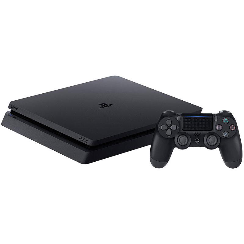 ソニー SONY PlayStation4 ジェットブラック500GB【CUH-2200AB01/プレイステーション4/ゲーム機本体】【沖縄・離島は送料無料対象外】 (1211866)