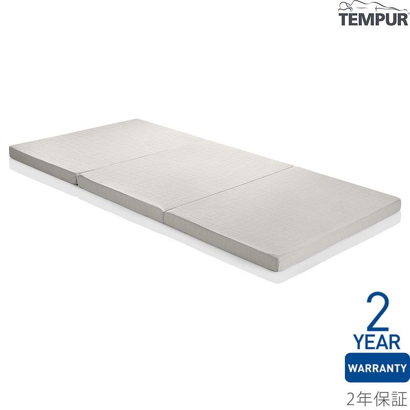 【直送品】Tempur テンピュール マットレス フトンシンプル S シングル #ライトグレー 【沖縄・離島は送料無料対象外】※他商品との同梱不可(wn0810) (6024911)