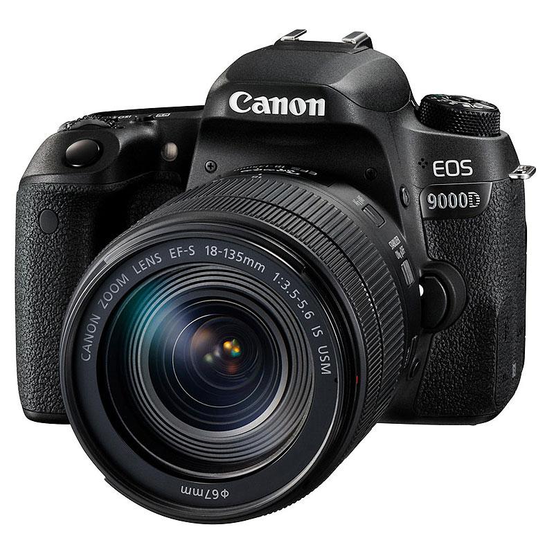 Canon EOS 9000D EF-S18-135 IS USM レンズキット デジタル一眼レフカメラ【別途延長保証契約可能】【宅配便送料無料】 (1208927)