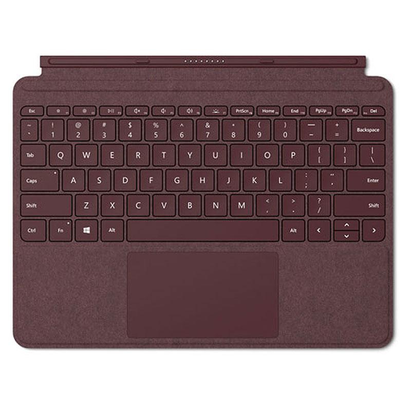 Microsoft マイクロソフト タブレットケース Surface Go Signature タイプ カバー KCS-00059 (バーガンディ)【FJT】【沖縄・離島は送料無料対象外】 (1212033)