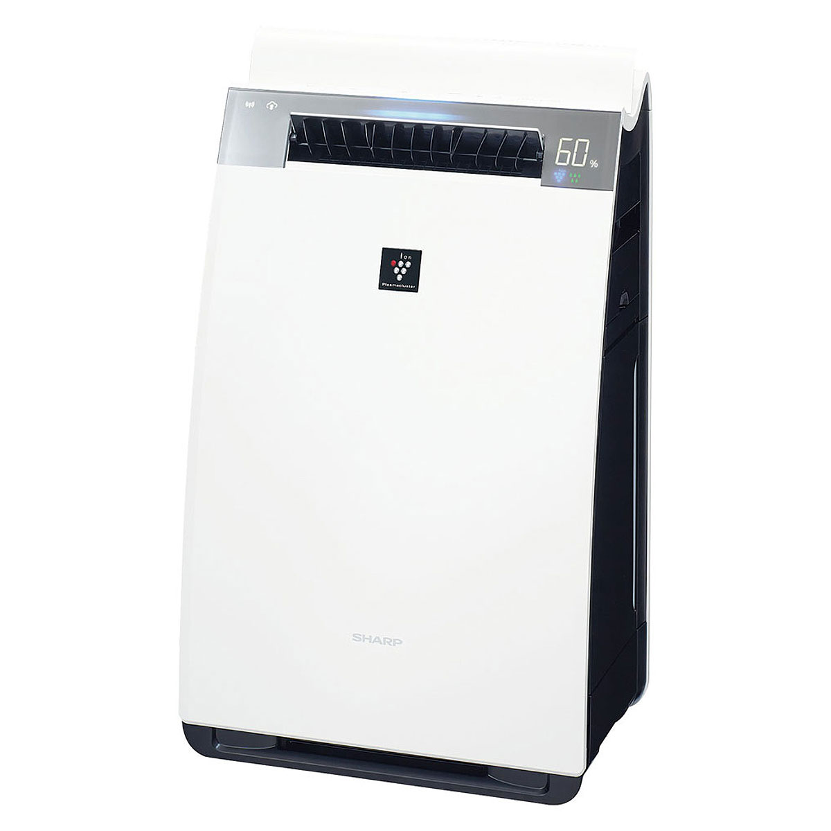 SHARP KI-JX75-W 加湿空気清浄機 【別途延長保証契約可能】【宅配便送料無料】※他商品との同梱不可 (wn0626)(1213897)