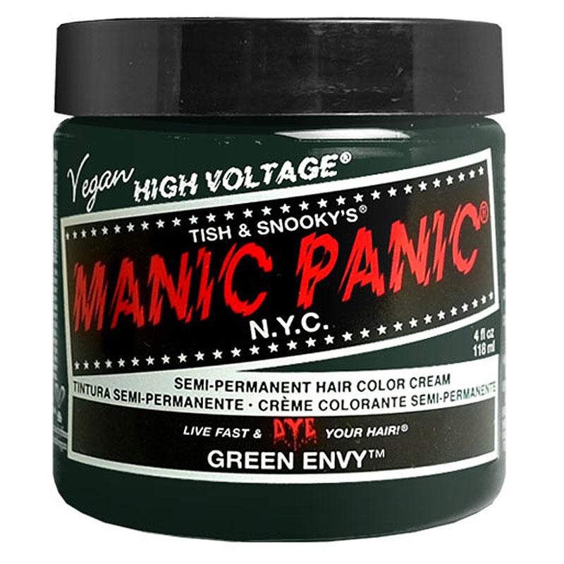 ショップ オブ ザ イヤー2018 コスメ 香水部門 ジャンル賞受賞店 即納 マニックパニック MC11014 6014436 Envy 定番の人気シリーズPOINT(ポイント)入荷 Green 期間限定特価品 PANIC MANIC ヘアカラークリーム マニパニ SBT グリーンエンヴィ