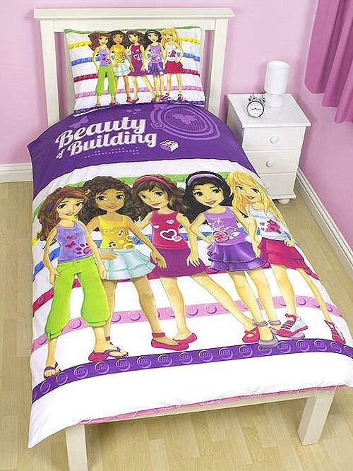 Osharekko Imported From Overseas Lego Friends Quilt Cover Amp