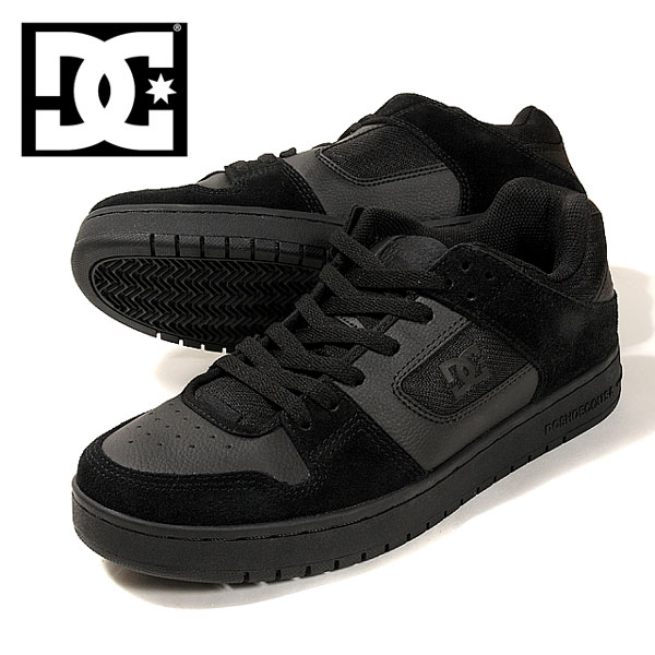 ca1f8f5be9a7 Men s ADYS100177 race up shoes shoes suede suede cloth leather black black  26.5 27.0 27.5 28.0 for the DC SHOES MANTECA ディーシーマンテカメンズスニーカー ...