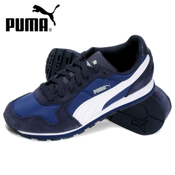 PUMA PUMA ST runner nylon ST Runner Nylon sneakers shoes mens ladies Womens  unisex men women unisex 356738 shoes shoes low cut Navy 23.5 24.0 24.5 25.0  25.5 ...