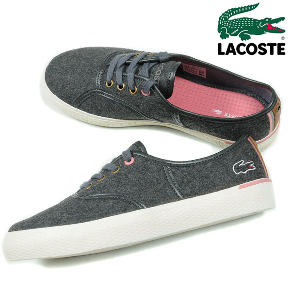 LACOSTE RENE VAULTSTAR AP SRW Lacoste rnevoltster women s Sneakers Shoes  Women s women s WHZ107 shoes shoes cut ortholite or solid dark grey 23.0  23.5 24.0 746c845a9