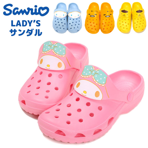 4b32e11b8b739 Children child character OY0260L EVA rubber light weight shoes shoes  cinnamon roll cinamolol Mai melody ぐでたま apple apple pudding blue pink  yellow orange ...