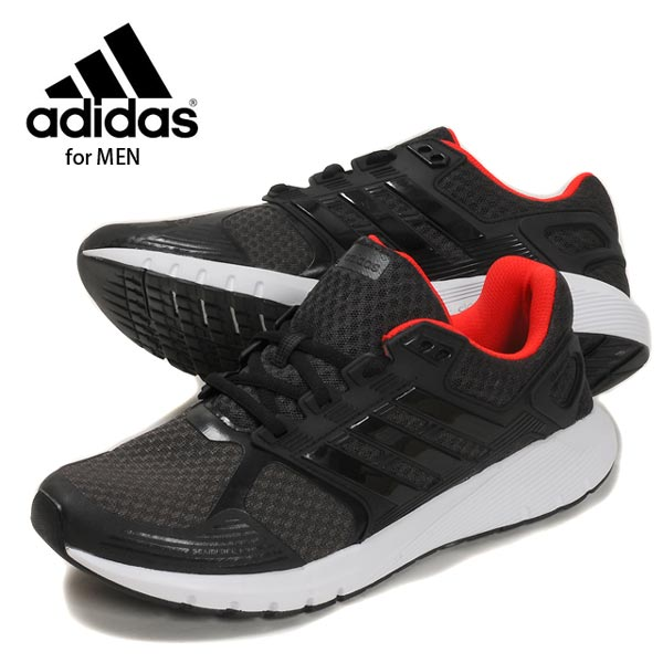 adidas DURAMO 8M アディダスデュラモ 8M running shoes CP8738 men man low-frequency  cut sneakers shoes shoes walking jogging sports campaign air mesh black ... d9f936fe5f39