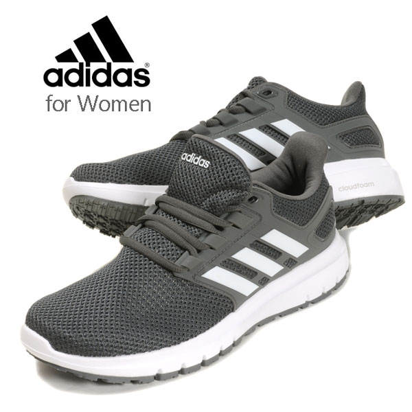 en soldes 8a469 9dab4 adidas ENERGY CLOUD 2W Adidas energy cloud 2W CG4070 lady's woman sneakers  shoes shoes running walking sports campaign GREFIV/FTWWHT/CARBON 22 22.5 23  ...