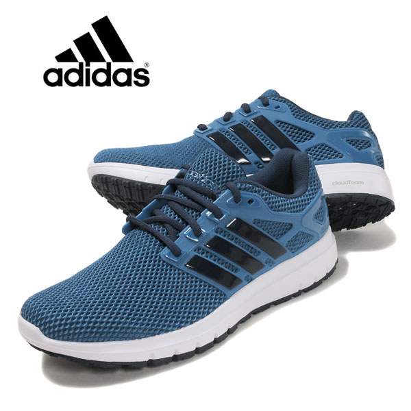 on sale d34a9 ece82 adidas ENERGY CLOUD M Adidas energy Clough super-masochist running shoes  CP9316 men man low ...