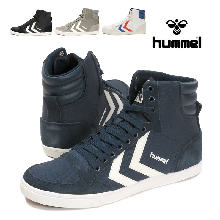 094fbb2af03 hummel Slimmer Stadil High Hyun Mel slimmer studio deal high sneakers shoes  higher frequency elimination canvas ...