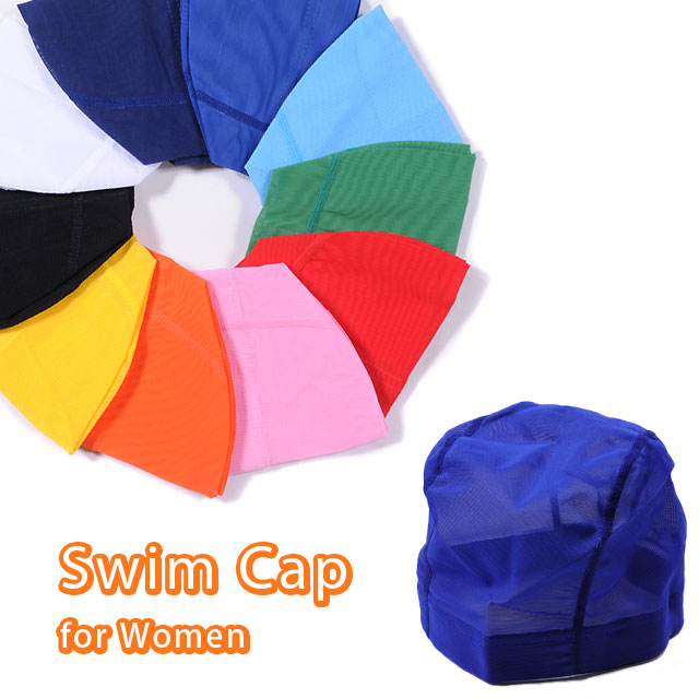 ★ ★ all 10 colors of plain powered Swim Cap