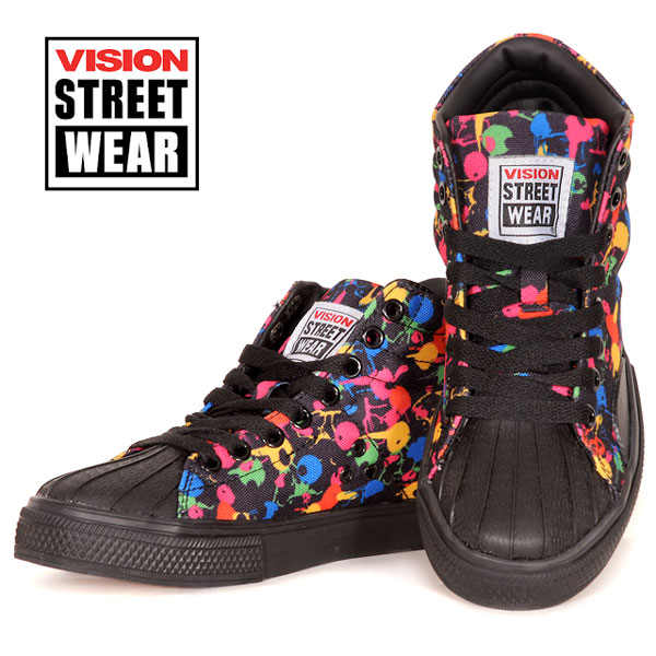 VISION STREET WEAR NEW CANVAS HI Sneakers Shoes [Vision Streetwear], [Hyatt]