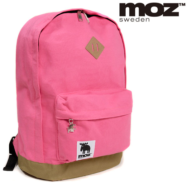 品牌包 moz 伯勞鳥女士婦女背包背包 D 包背包豬鼻子袋包袋運動衫澤西島休閒固體粉紅色