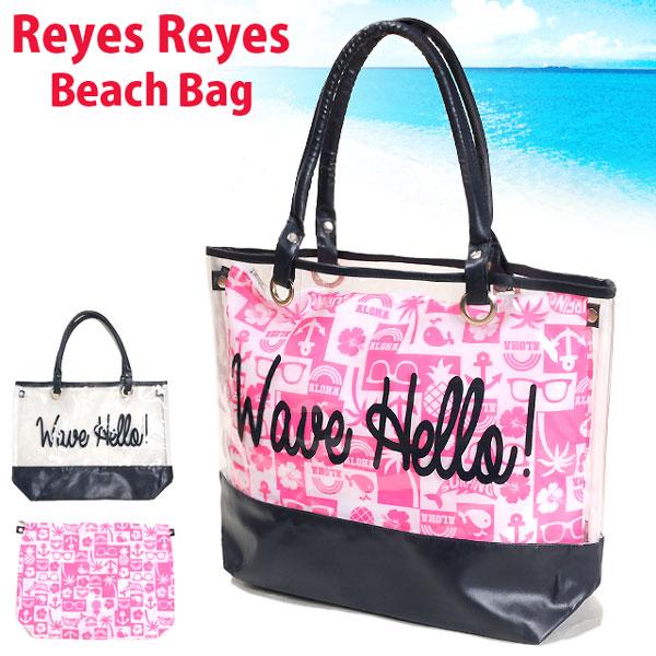 Reyes Raise Vinyl Beach Bag Swimming Pool Pvc Transparence Shoulder 127 547 Plain Fabric Skeleton