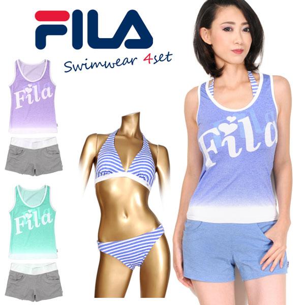 fila bikini blue
