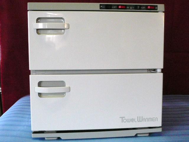 卸価格/送料無料♪タオルウォーマー200本入(蒸し器)温度2段階調節機能付