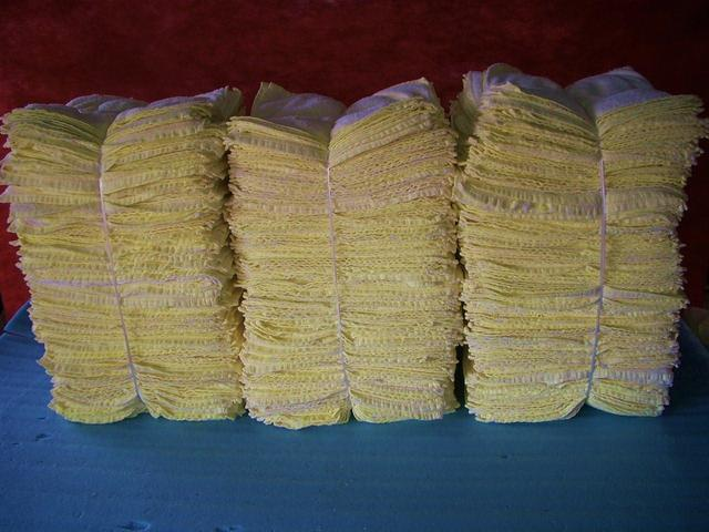 高級ウエス数量どっさり(黄色)15kg