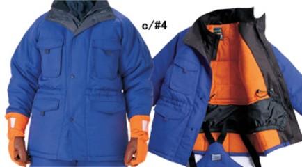 冷凍倉庫用防寒コート -60℃対応