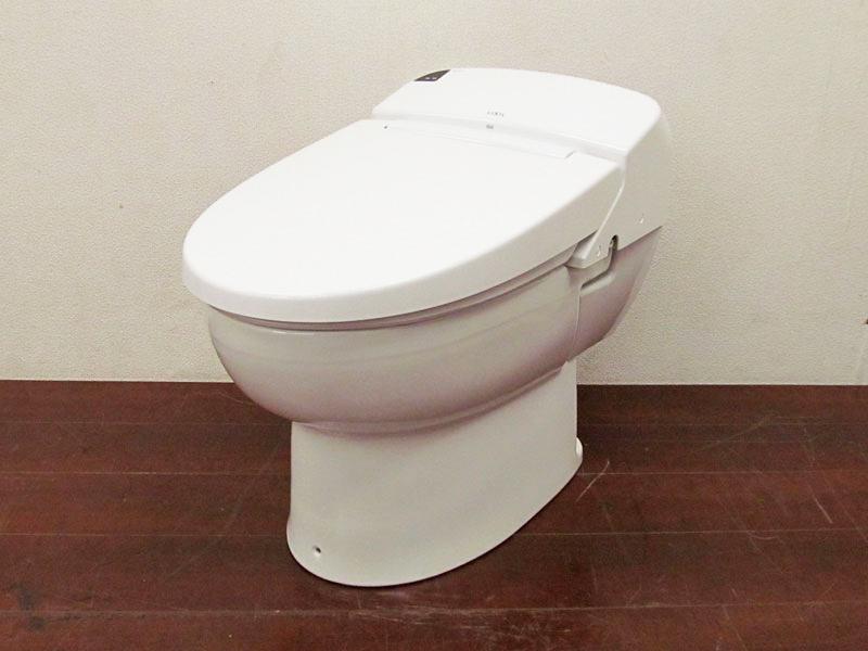 【新古品】 【展示品】 LIXIL(INAX) シャワートイレ一体型便器 壁排水 BC-D11MPF/DV-D113AMP ピュアホワイト 16年製【R0727-01】