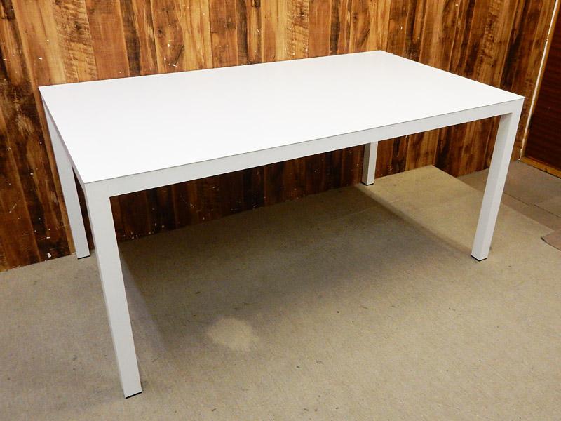 【アウトレット】 AREA declic (エリア・デクリック) LA W1600 ダイニングテーブル ホワイト 【Q0128-03】