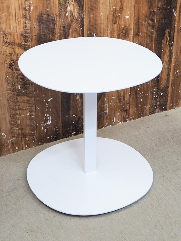 【新古品】 【展示品】 Viccarbe (ヴィッカルベ) Serra (セラ) / W500 サイドテーブル ホワイト 【T0124-01】