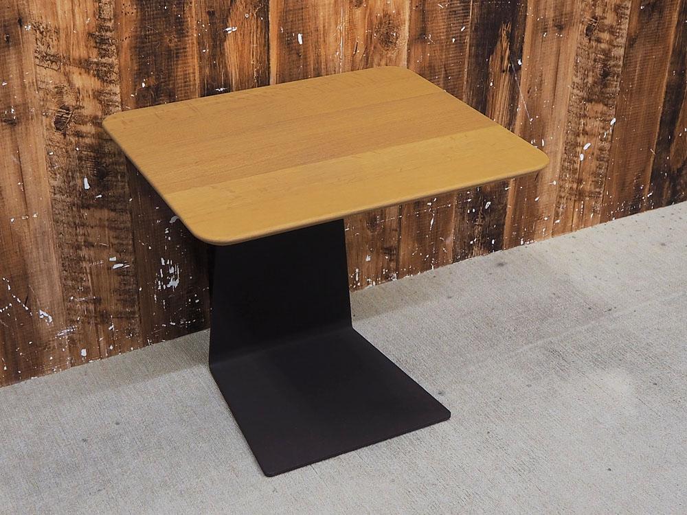 【新古品】 【展示品】 arflex (アルフレックス) MERCADO (メルカド) / W500 サイドテーブル サービステーブル ナチュラル 【T0221-01】