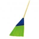 落ち葉などの掃除に最適な箒です。 【箒】 スーパーホーキ(アプソン)[店舗 オフィスビル 商業施設 ホテル]