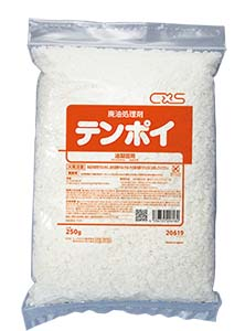 業務用天ぷら油固化剤 シーバイエス テンポイ 250g×4袋×16