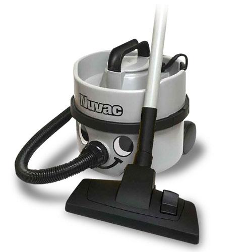 コンパクトで軽量、耐久性・パワー抜群の掃除機 ニュマティック社 NVH-180 ニュバック 業務用乾式掃除機