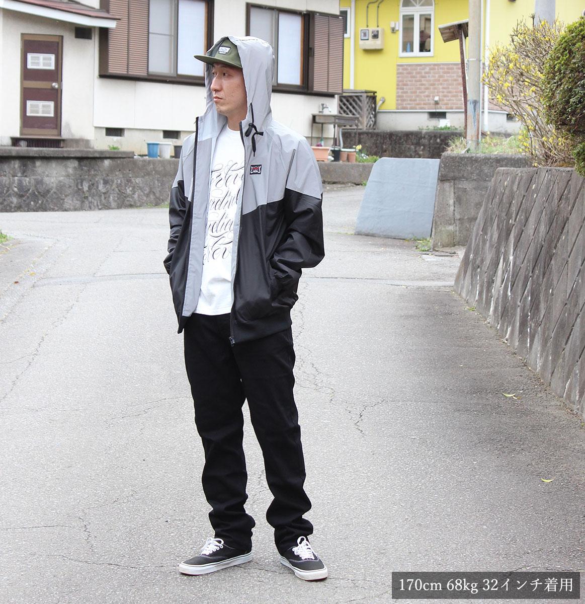 ALTAMONT(arutamonto)A/979 DENIM(BLACK)BAKER SKATEBOARDS HEROIN SKATEBOADS黑色牛仔裤标准合身锥形街道服装服饰名牌