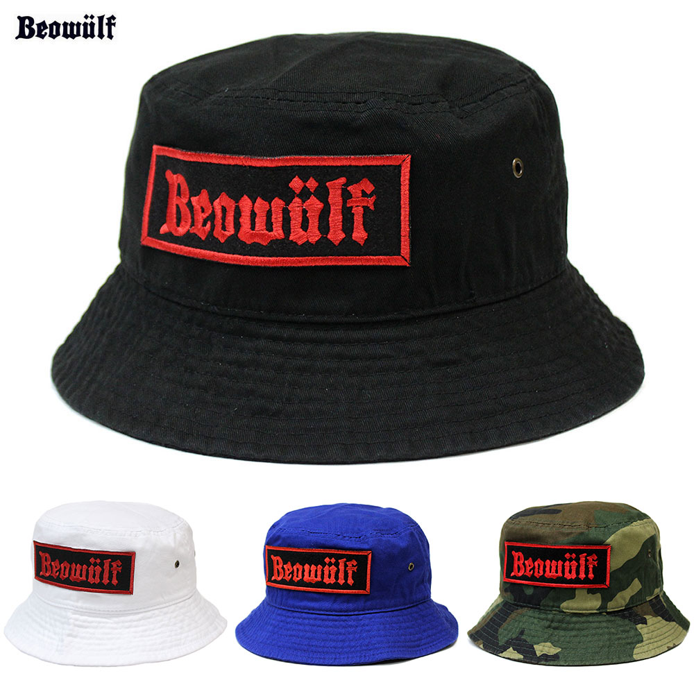 f175771bedc31 BEOWULF (Beowulf) BUCKET HAT pail hat Suicidal Tendencies No Mercy Excel  band metal flat hard core band skating