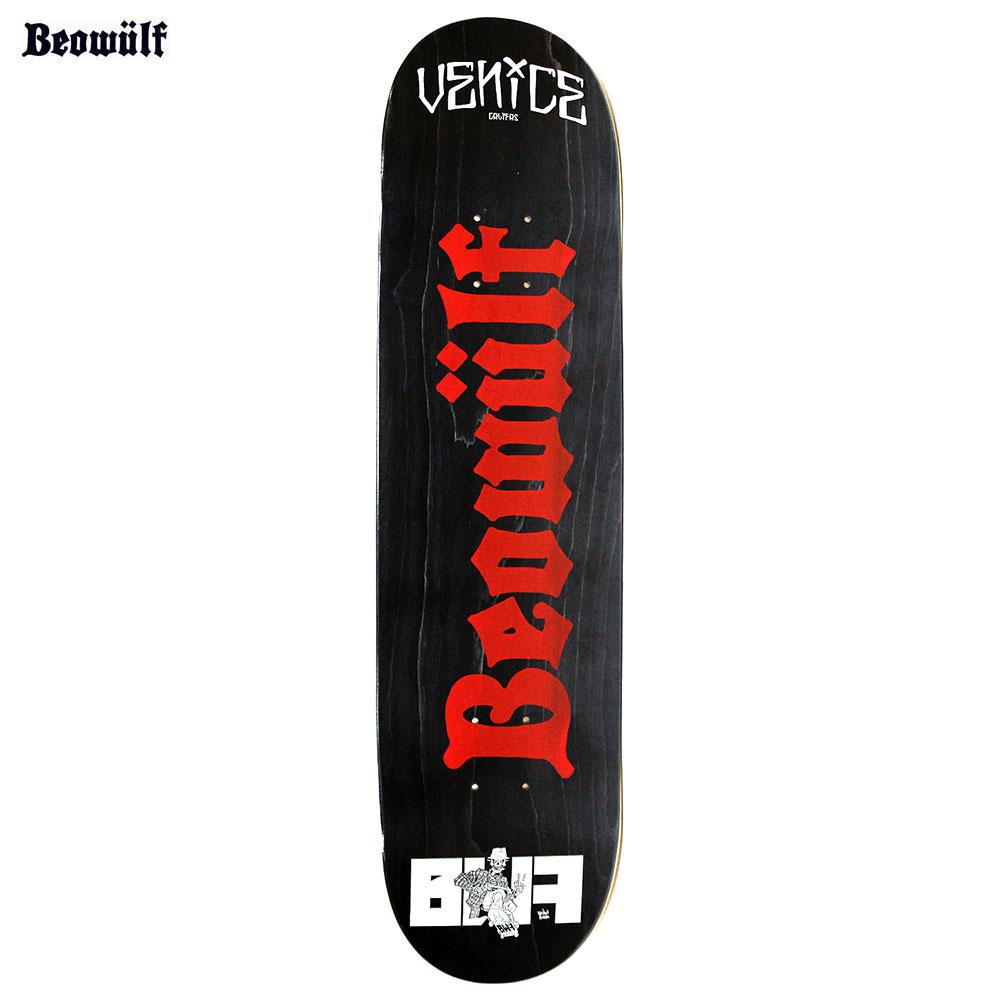 【送料無料 / 代引料込 / デッキテープが無料で付きます!】 BEOWULF (ベオウルフ) BEOWULF LOGO Skateboard Deck スケートボード デッキ 7.75 8 Suicidal Tendencies No Mercy Excel バンド マーチャンダイズ 【あす楽対応】