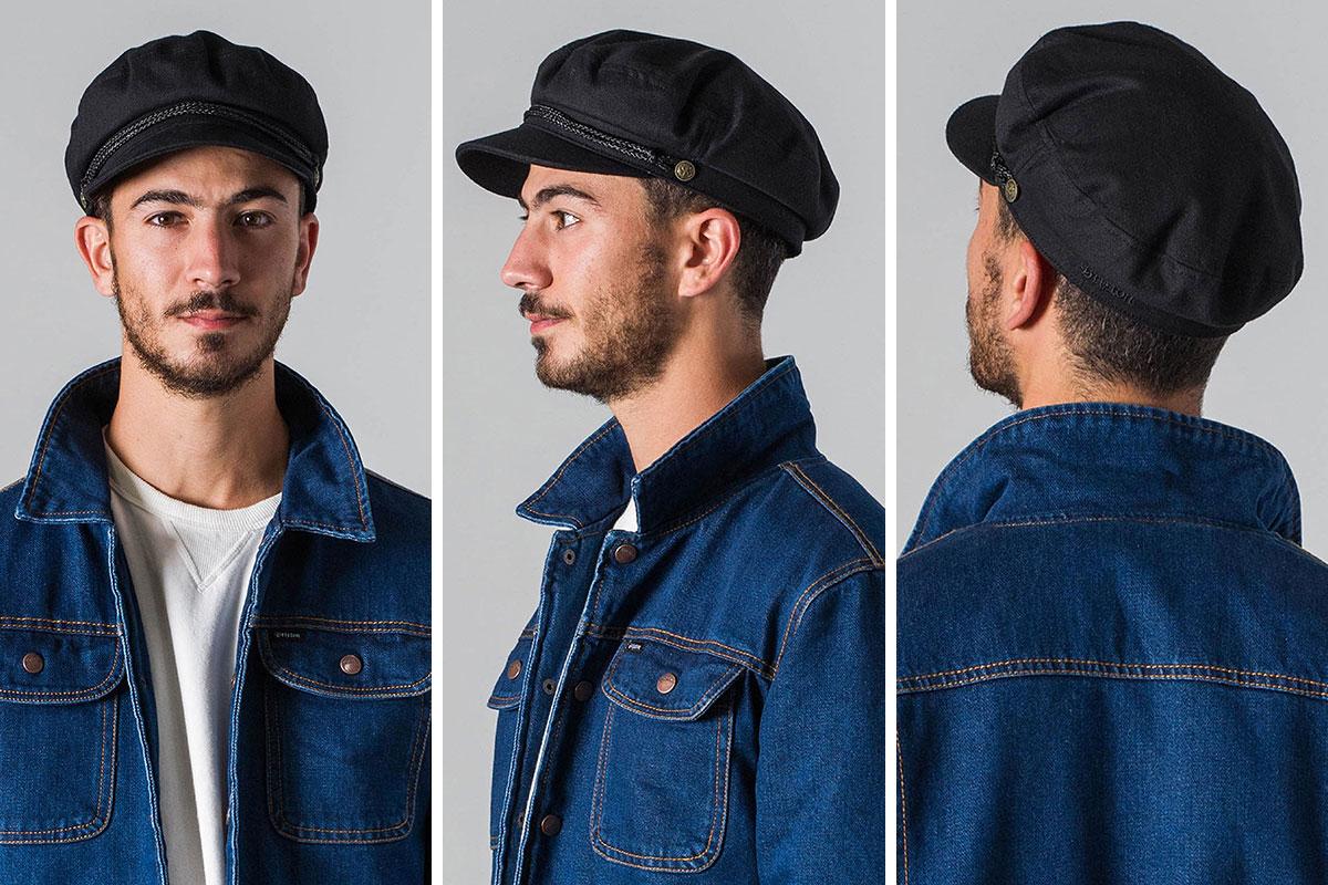 67936922fdfc8 OSS CLOTHING  BRIXTON (Brixton) brixton FIDDLER CAP (Burgundy) sale ...