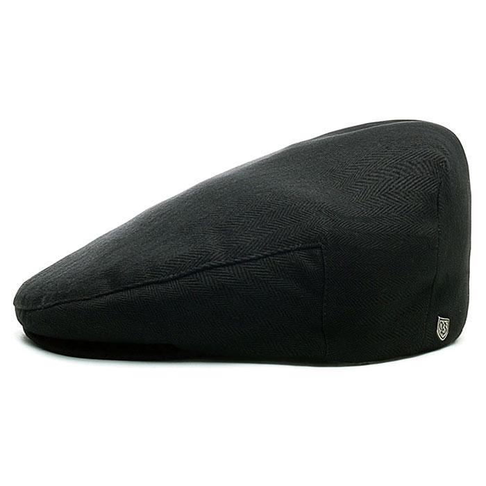 【メール便送料無料】 BRIXTON (ブリクストン) HOOLIGAN SNAP CAP - BLACK ハンチング ハンチング帽 ハンチング帽子 メンズ 春夏 秋冬 コットン 黒 58cm 60cm 62cm 大きいサイズ 【あす楽対応】