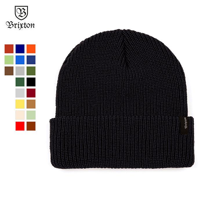 OSS CLOTHING  BRIXTON (Brixton) HEIST BEANIE (Black)  a583453171a5