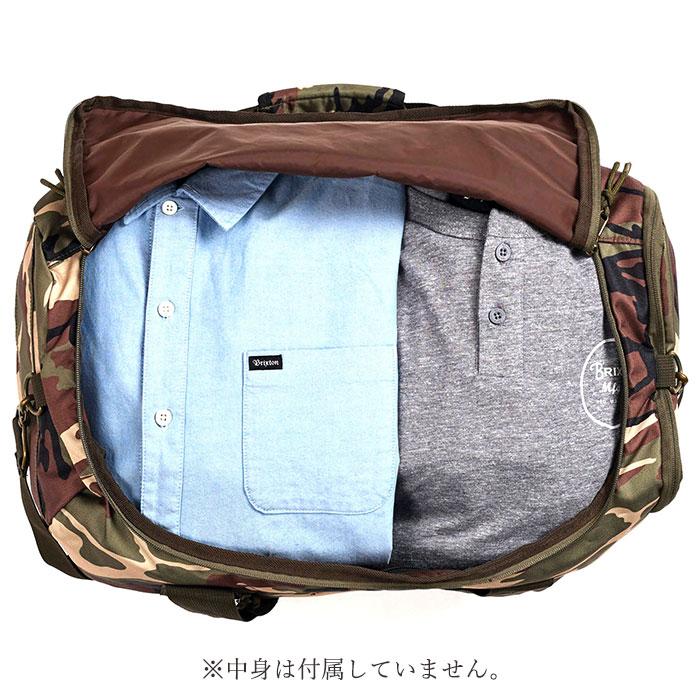 253c701740 18 BRIXTON (Brixton) PACKER BAG duffel bag skateboarding bag men autumn  polyester backpack camo 38L