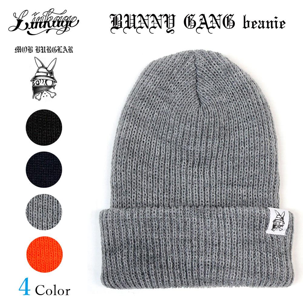 LINKAGE (linkage) BUNNY GANG beanie (Beanie knit Cap Kamon Cap knit Cap Hat)  Eric Dressen Eric Dressen skater Santa Cruz Skateboards KR3W Vans  Independent ... d72118cb3f7c