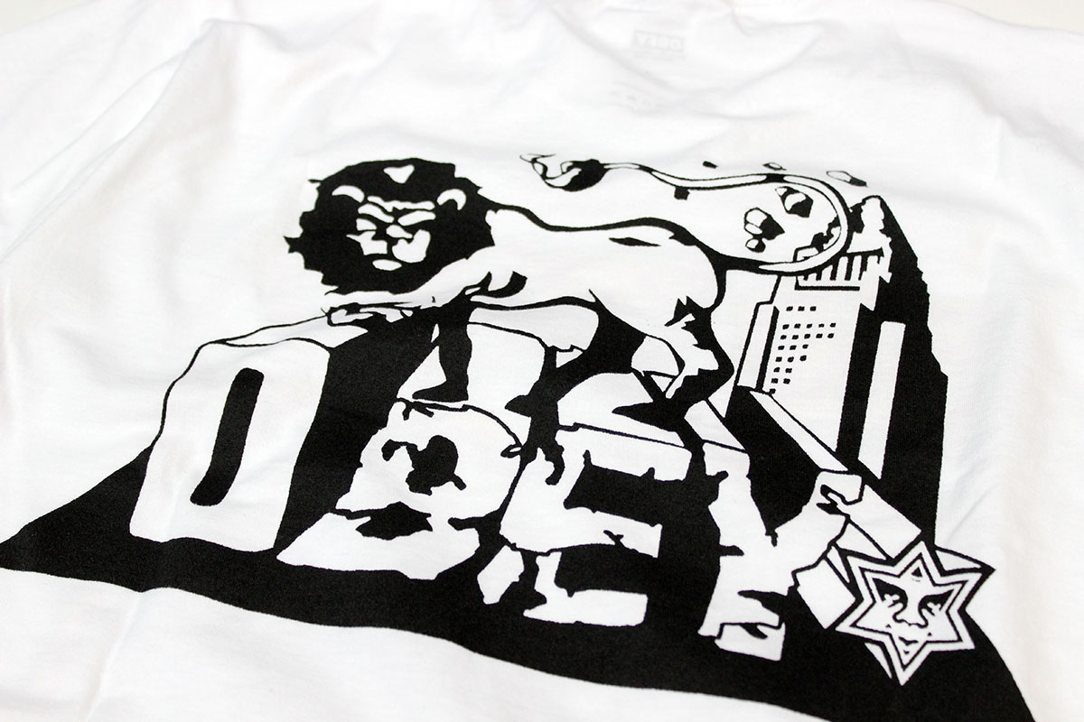 Design t shirt reggae -  Obey Obey Bad Brains X Obey Tee Morrow T Shirt Men S