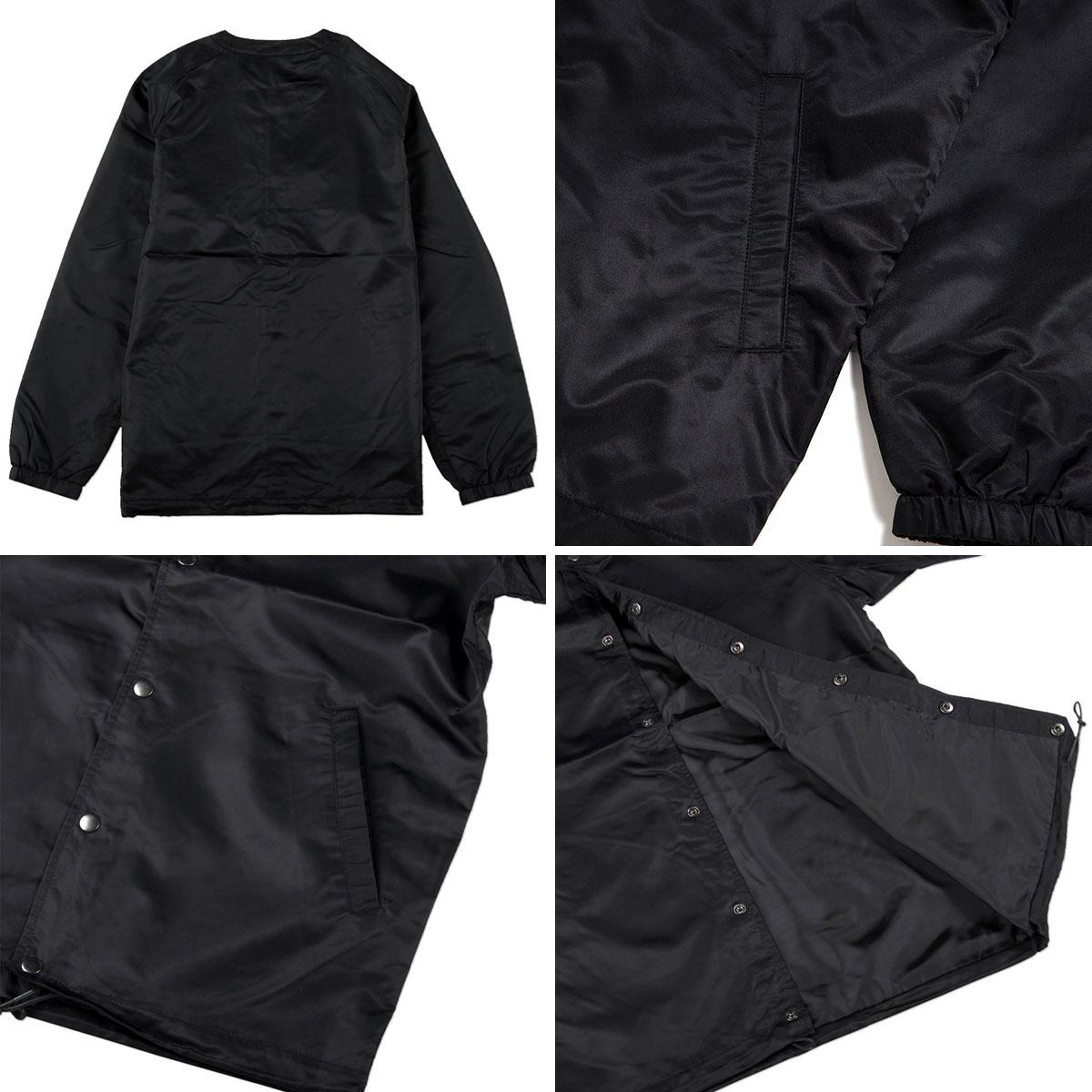 BLACK SCALE(黑色规模)COLE[没有彩色领子的类型教练茄克春天HUF hafu STUSSY suteyushi]