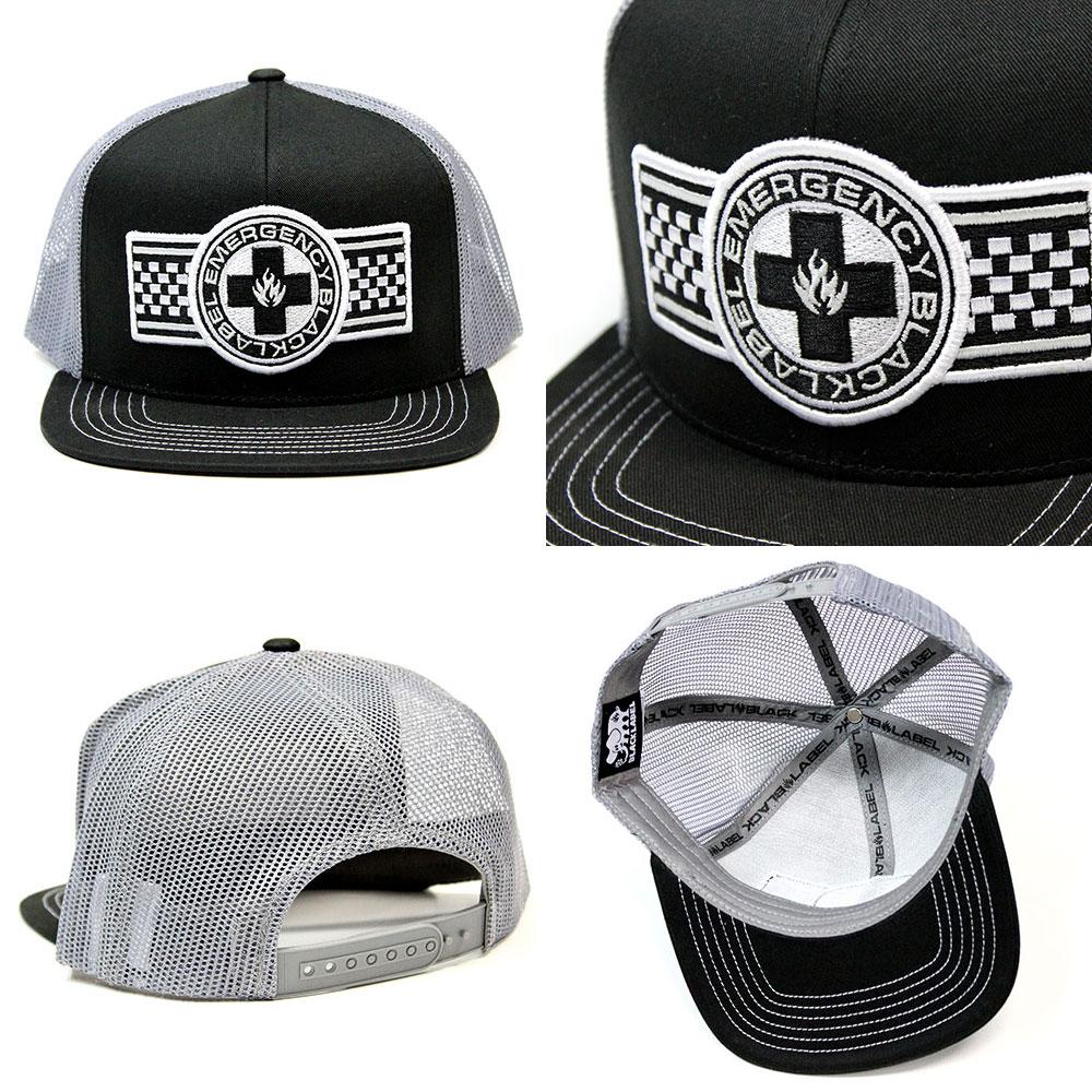 """◇留下來,一點點的◇BLACK LABEL(黑色標簽)BANNER MESH CAP(Black)/""""對應"""""""